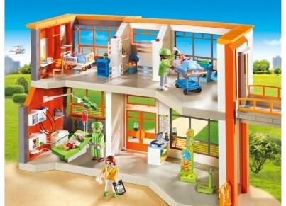 PLAYMOBIL 6657 Μεγάλη Παιδιατρική Κλινική