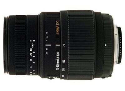 Sigma 70-300mm f/4-5.6 Macro DG - για Nikon DSLR Lens