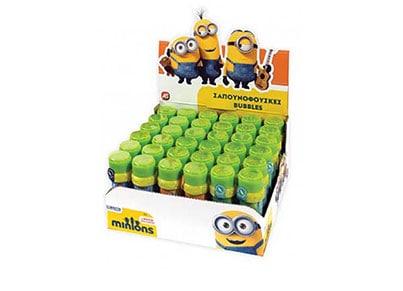 Μπουκαλάκι για Σαπουνόφουσκες Μονό Minions - AS Company