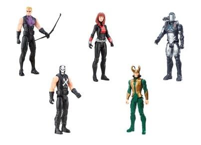 Φιγούρα Avengers Characters Β Titan Hero - 5 Σχέδια - 1 Τεμάχιο - Hasbro