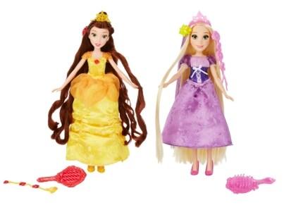 Disney Princess Basic Hair Play Κούκλα - 1 τεμάχιο (B5292)