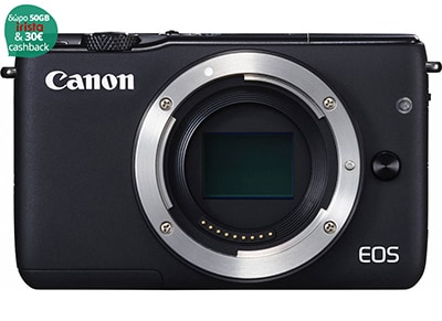 Mirrorless Camera Canon EOS M10 - Μαύρο