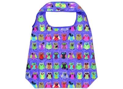 Τσάντα Shopper Moses Owl - Λιλά
