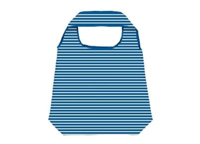 Τσάντα Shopper Moses Blue Navy Stripe