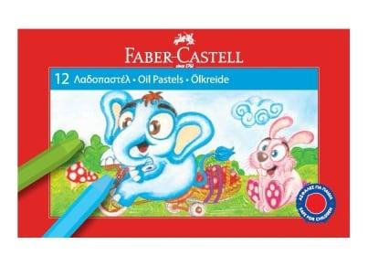 Λαδοπαστέλ Faber Castell Grip (12 τεμάχια)