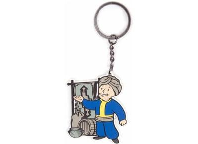 Μπρελόκ Fallout Merchant Skill Keychain - Λευκό