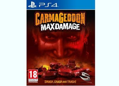 Carmageddon: Max Damage - PS4 Game