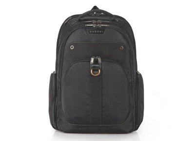 """Τσάντα Laptop Πλάτης 17.3"""" Everki Atlas Backpack Μαύρο"""