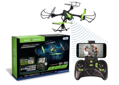 Sky Viper Video Drone (Streaming)