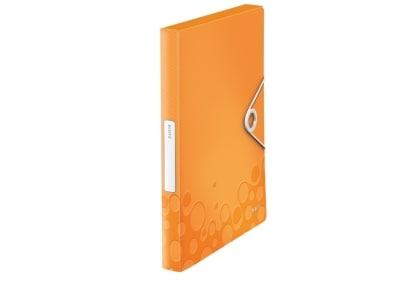 Κουτί Αρχείου LEITZ WOW PP A4 Πορτοκαλί