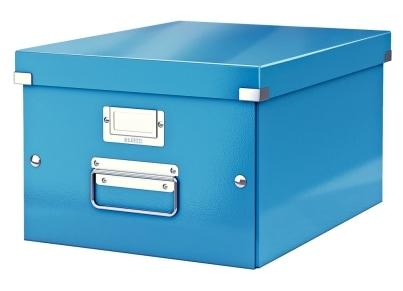 Κουτί Αρχειοθέτησης LEITZ WOW Click & Store Medium Μπλε