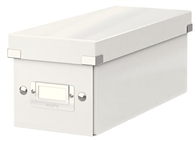 Κουτί Αρχειοθέτησης CD LEITZ WOW Click & Store Λευκό