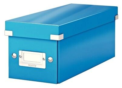 Κουτί Αρχειοθέτησης CD LEITZ WOW Click & Store Μπλε