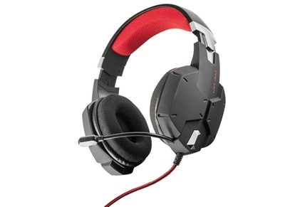 Trust GXT 322 - Gaming Headset Μαύρο gaming   αξεσουάρ pc gaming   gaming headsets