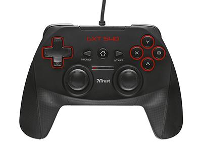 Trust GXT 540 Controller - Χειριστήριο PS3/PC Μαύρο gaming   αξεσουάρ κονσολών   ps3    headset