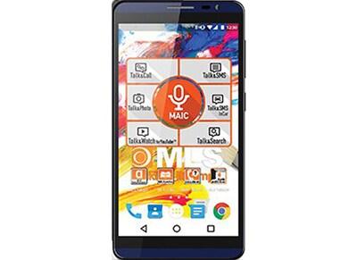 "4G Smartphone MLS iQTalk Color 5.5"" - Dual Sim Μαύρο/Μπλε"