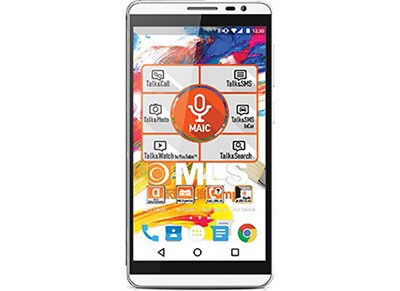 "Smartphone MLS iQTalk Color 4G 5.5"" Dual Sim Ασημί"
