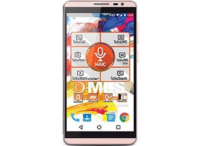 "Smartphone MLS iQTalk Color 4G 5.5"" Dual Sim Ροζ τηλεφωνία   smartphones"