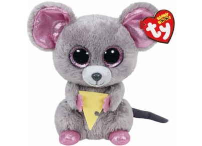 Χνουδωτό Ποντίκι με Τυρί TY Beanie Boos 15cm (1607-36192)