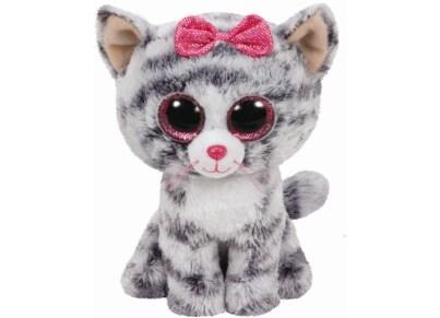 Χνουδωτό Γάτα TY Beanie Boos Γκρι 15cm (1607-37190)