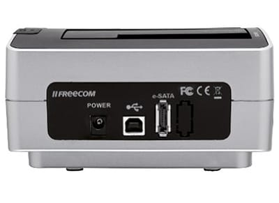 "HDD Duplicator 2.5"" & 3.5"" Freecom 56136 Γκρι"