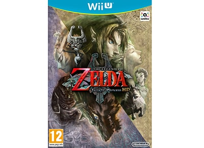 Used Wii U Game: The Legend of Zelda: Twilight Princess HD gaming   used games   wii u used