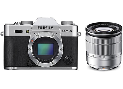 Mirrorless Camera Fujifilm X-T10 16-50mm - Ασημί