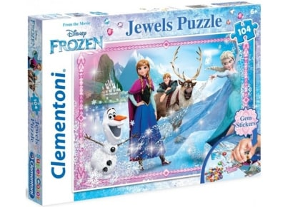 Puzzle Clementoni Disney: Frozen Magic 104 κομμάτια (1211-20133)