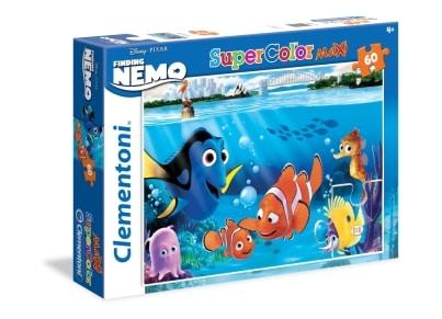 Puzzle Clementoni Super Color Maxi Disney: Ψάχνοντας το Νέμο 60 κομμάτια (1200-26409)
