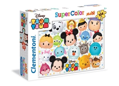 Παζλ Tsum Tsum Super Color Disney (104 Κομμάτια)