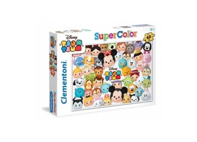 Παζλ Tsum Tsum Super Color Disney (60 Κομμάτια)