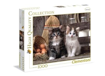 Παζλ Χαριτωμένες Γατούλες High Quality Collection Clementoni - 1000 Κομμάτια