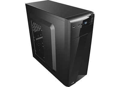 Aerocool CS-1101 - Κουτί υπολογιστή ATX/Micro-ATX/Mini-ITX