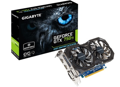 Κάρτα γραφικών - Gigabyte GeForce GTX 750 Ti - 2GB