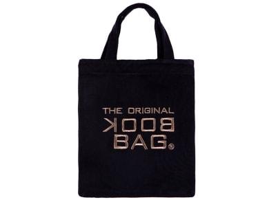 """Tσάντα Βιβλίου """"The Original Book Bag"""" - Small - Μαύρο/Καφέ"""
