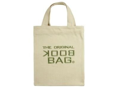 """Tσάντα Βιβλίου """"The Original Book Bag"""" - Small - Λευκό/Πράσινο"""