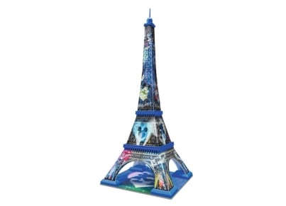Puzzle 3D Ravensburger Πύργος του Άιφελ Mickey & Minnie - 216 κομμάτια