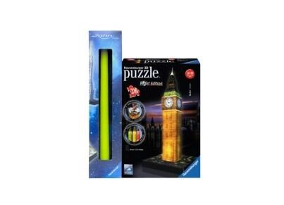 Λαμπάδα 3D Puzzle  Ravensburger Μπιγκ Μπεν Night Edition - 216 κομμάτια