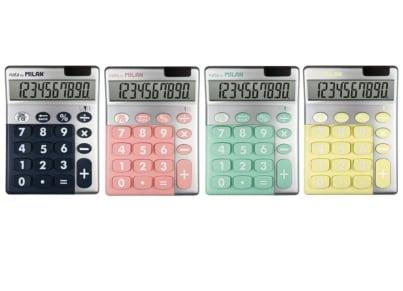 Αριθμομηχανή Milan Silver 10 Ψηφίων  (1 τεμάχιο)
