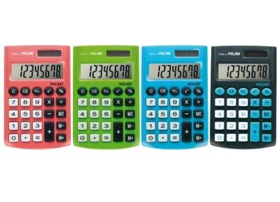 Αριθμομηχανή Milan Pocket (1 τεμάχιο)