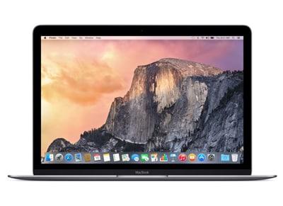 "Laptop Apple MacBook MLH72GR/A - 12"" (M3/8GB/256GB/HD) Γκρι"