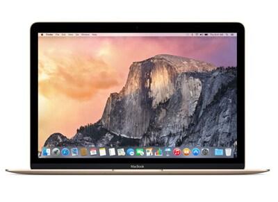 """Laptop Apple MacBook MLHE2ZE/A - 12"""" (M3/8GB/256GB/HD) Χρυσό"""