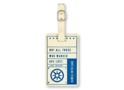 Luggage Tag Handle with Care Moses