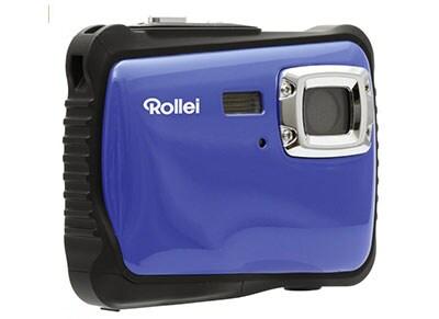 Compact Rollei Sportsline 65 Αδιάβροχη - Μπλε & Θήκη Μεταφοράς