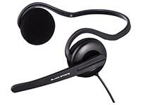 Ακουστικά Headset Hama Black Stripe 53979 Μαύρο