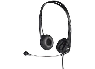Ακουστικά Headset Hama HS-260 53963 Μαύρο