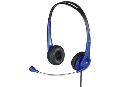 Ακουστικά Headset Hama HS-260 53964 Μπλε