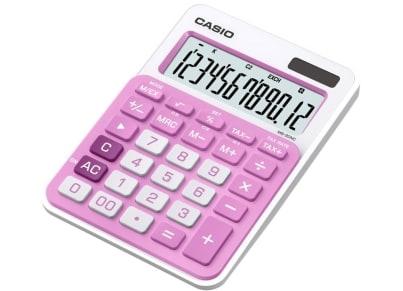 Αριθμομηχανή Casio 10-MS-20NC Ροζ