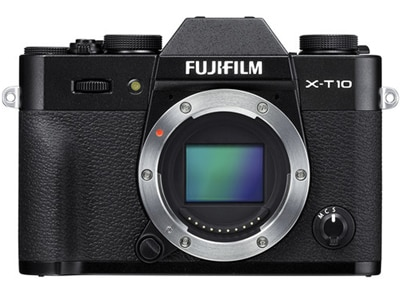 Mirrorless Camera Fujifilm X-T10 Body - Μαύρο φωτογραφία   βίντεο   mirrorless
