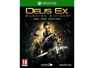 Deus Ex Mankind Divided Day One Edition - Xbox One Game